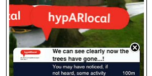 hyperlocal augmented reality