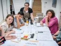 Facilitating at Paul Hamlym Foundation's Digital Undoc Camp
