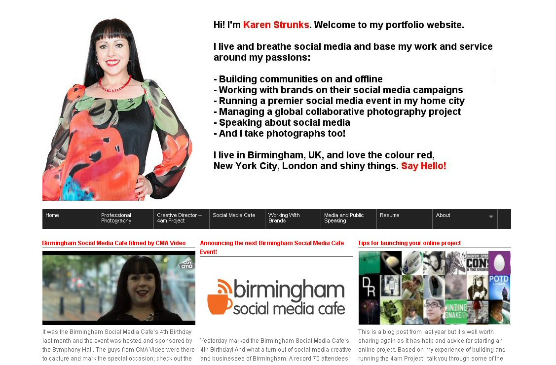 My guest lecture at Birmingham City University about managing online profiles and tags