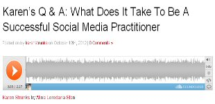 Q&A: What does it take to be a successful social media practitioner?