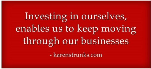 investing in ourselves