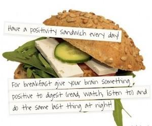 positivity sandwich