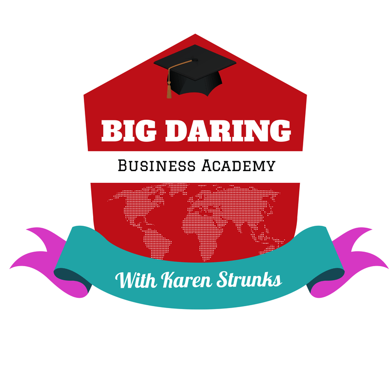 BIG DARING BUSINESS ACADEMY LOGO