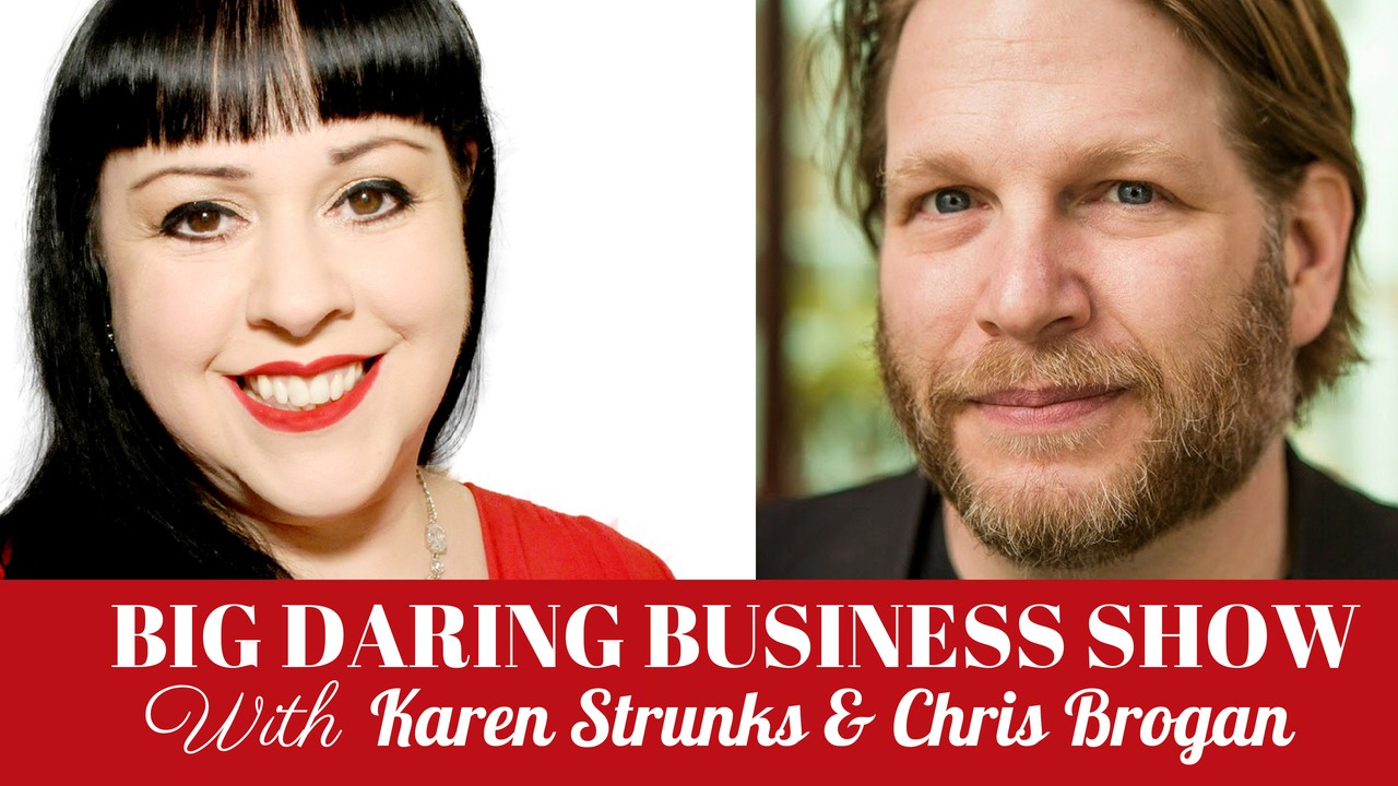 001: Talking Big Daring Business Moves & Being A Freak With Chris Brogan