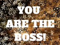 You are the boss! Designing your ideal business