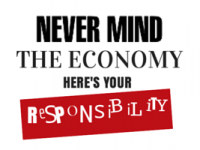 Never mind the economy, here's your responsibility
