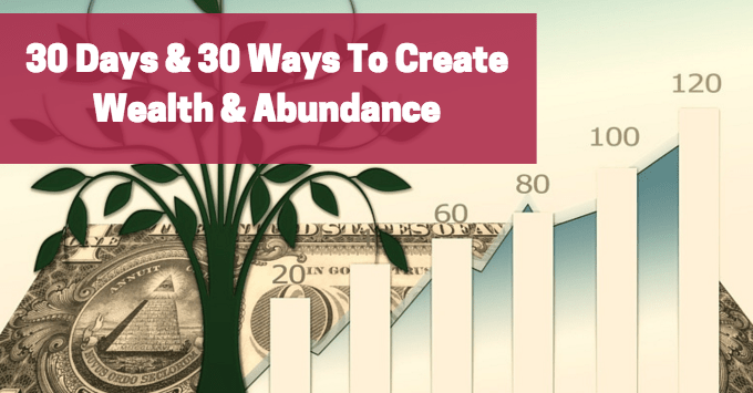 30 days to wealth and abundance