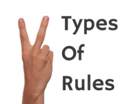 There are two types of rules