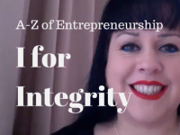 I for Integrity – A-Z of Entrepreneurship