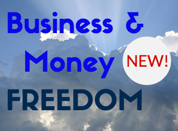 NEW! Business & Money Freedom Course. Starts soon!