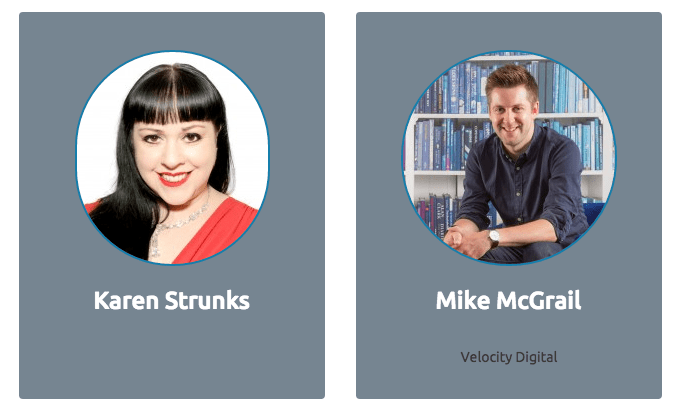 the content marketing acamedy speakers