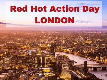 Join me for a day of Red Hot Action in London!
