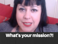 This is my mission. What's yours?