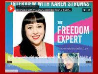 Interviewed by Natalie Edwards about freedom, business, entrepreneurship, money, success and my story!