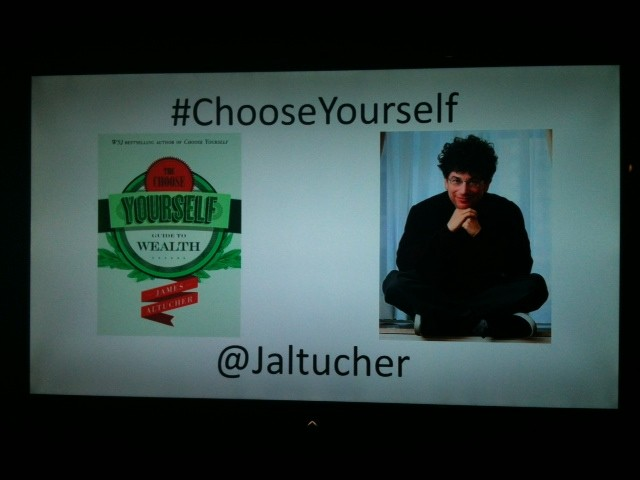 choose yourself jame altucher