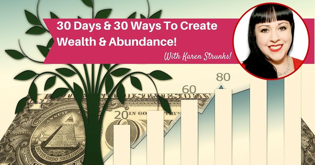 30 days & 30 ways to wealth & abundance (1)