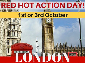 NEW! Red Hot Action Day - London - October 1st or 3rd!
