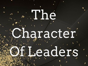 The Character Of Leaders