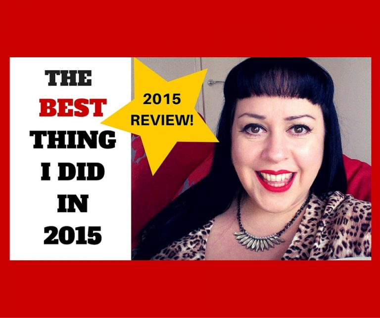 2015 Review. The BEST Thing I Did Last year!