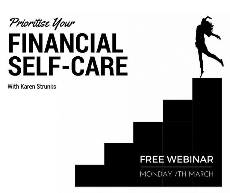 NEW! Free training. Prioritise Your Financial Self-Care
