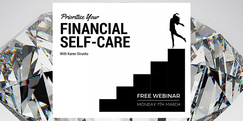 financial self care image