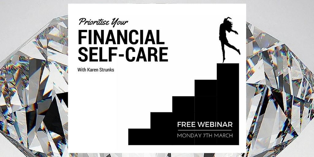 financial self care image