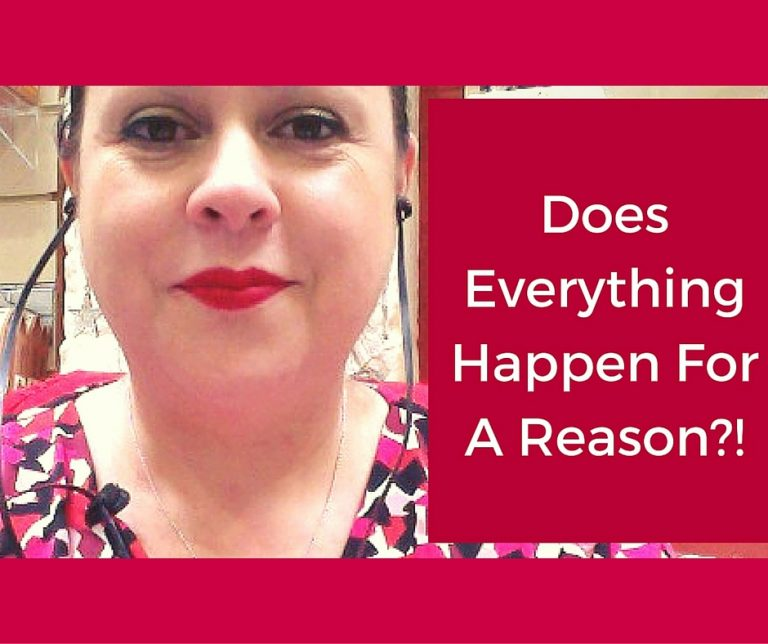 Q&A – Does everything happen for a reason?