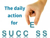 The daily action for success