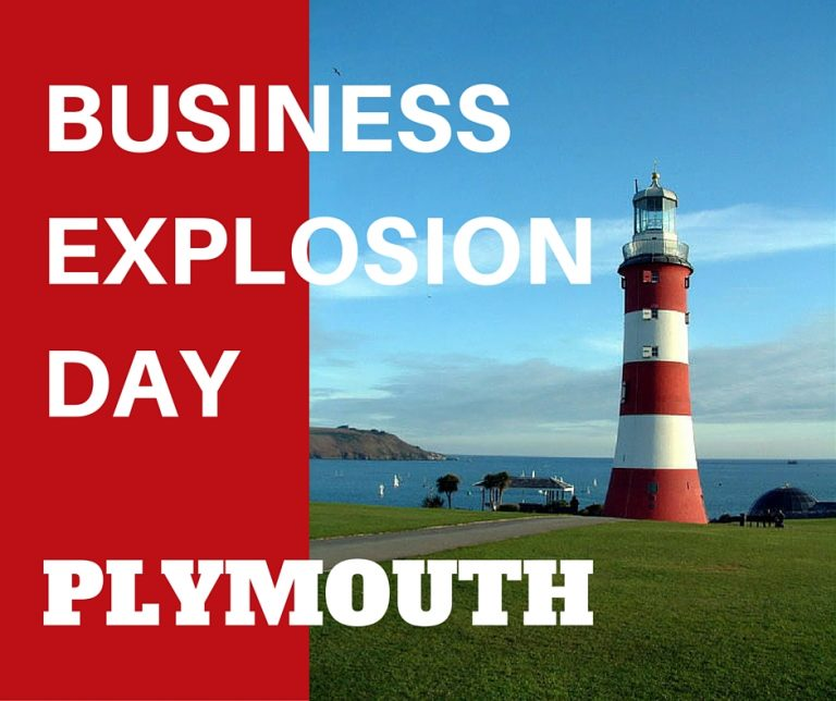 Business Explosion Day – PLYMOUTH!