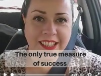 The only true measure of success…