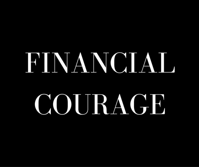 Financial Courage
