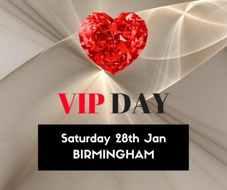 VIP Day – Birmingham – Saturday 28th January