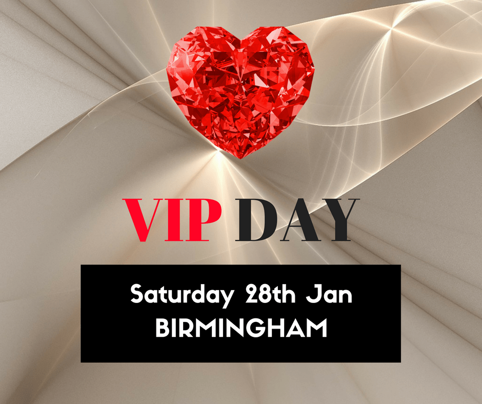 VIP Day - Birmingham - Saturday 28th January