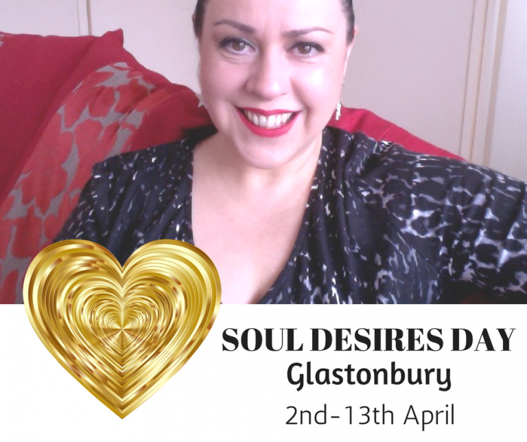 Soul Desires Day – Glastonbury – April