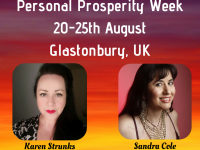 Personal Prosperity Weeks – 20-25th August – Glastonbury, UK