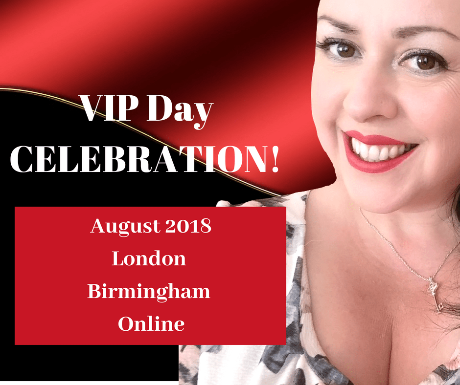 VIP Day Summer Celebration! Ends 31st August