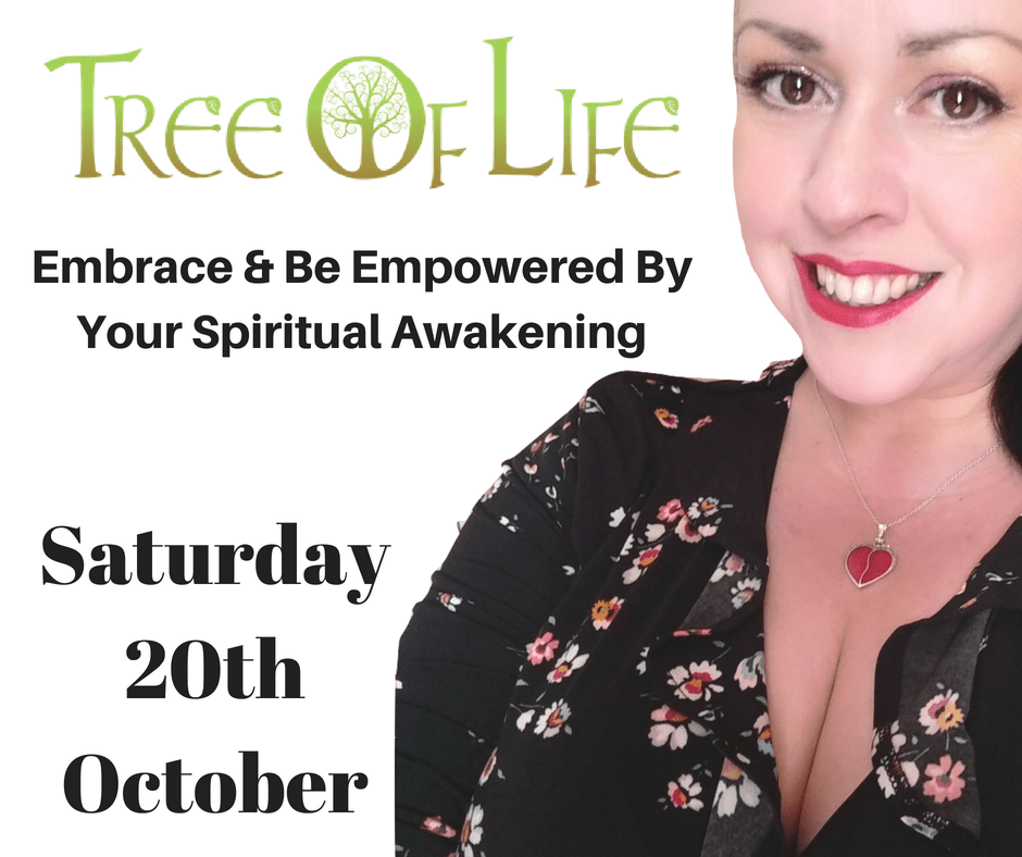 Event: Speaking at the Tree Of Life Festival 20th October 2018 in Birmingham