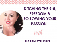 [Podcast] Ditching the 9-5, Freedom & Following Your Passion