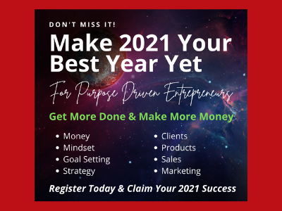 FREE Event - Make 2021 Your Best Year Yet!